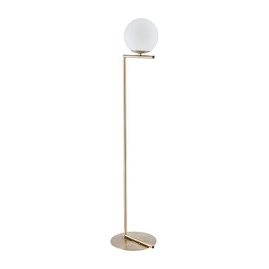 Southern Enterprises Cean Table Lamp Metal Floor Lamp