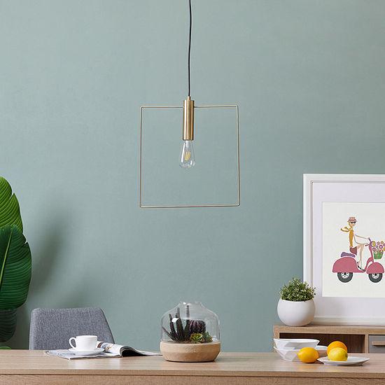 Southern Enterprises Crebil Floor Lamp Pendant Light