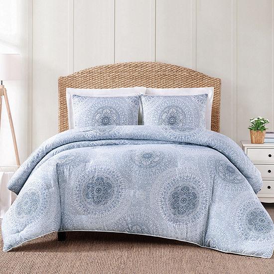 Oceanfront Resort Ocean Blues 2 Pc Midweight Comforter Set