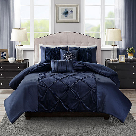 Madison Park Delora 5 Pc Comforter Set