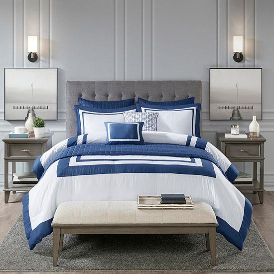 Madison Park Lexington 8-pc. Comforter and Coverlet Set