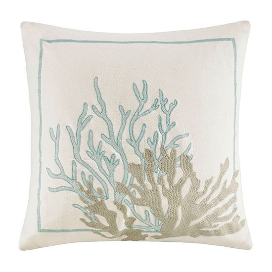 Harbor House Cannon Beach Square Throw Pillow