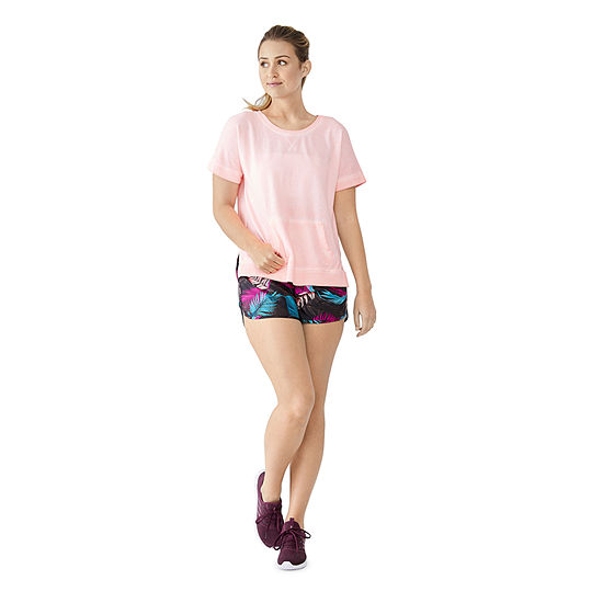 Xersion Dolman Sweatshirt and Woven Short