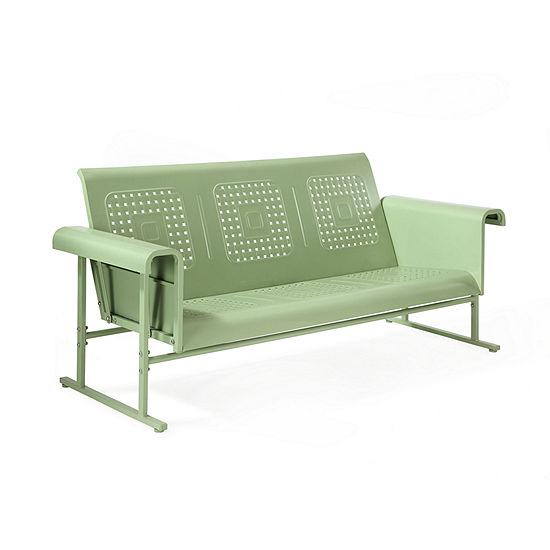 Crosley Veranda Sofa Glider In Oasis Green Patio Sofa