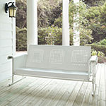 Crosley Veranda Sofa Glider In Alabaster White Patio Sofa