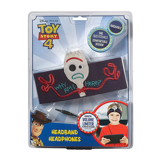 Toy Story 4 Forky Kid-Friendly Headphones with Washable Headband