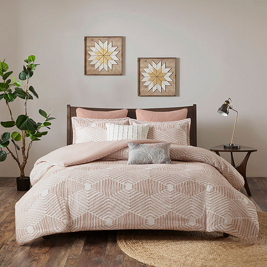 INK+IVY Ellipse 3-pc. Cotton Comforter Set