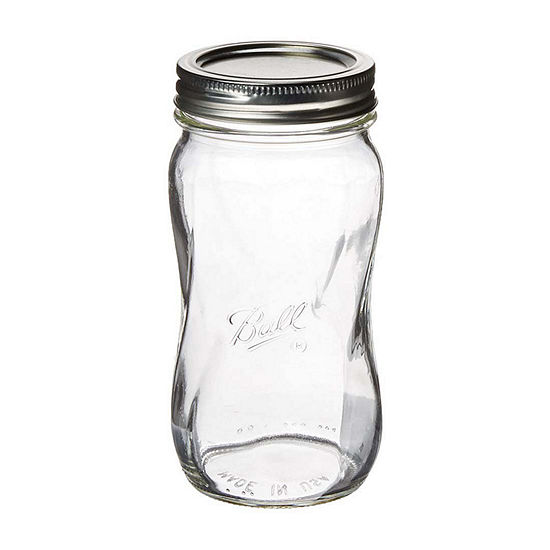Ball Mason 16oz Spiral Jars With Lids 16-pc. Canister