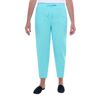 Cathy Daniels Linen Womens Ankle Pant