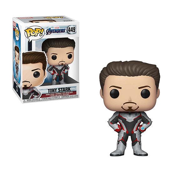 Funko Pop! Marvel: Avengers Endgame - Iron Man Tony Stark Action Figure