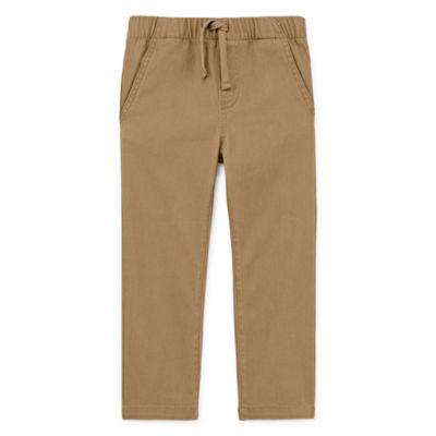 Okie Dokie Boys Skinny Pull-On Pants - Toddler