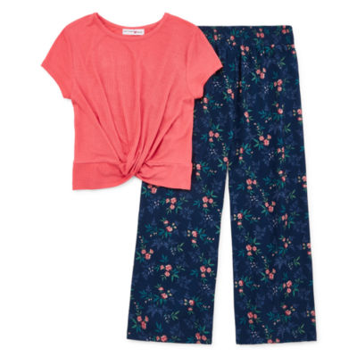 Knit Works 2-pc. Pant Set Preschool / Big Kid Girls
