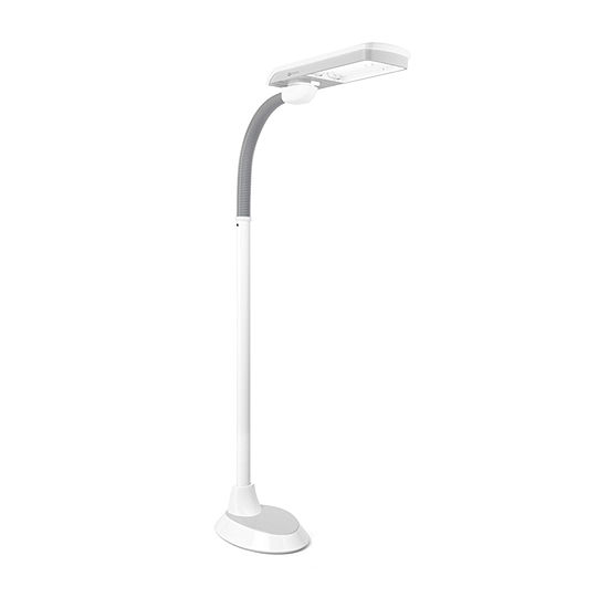 Ottlite 36w Pivoting Shade Flr Lamp Plastic Floor Lamp