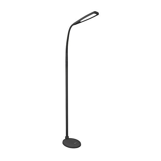 Ottlite Natural Daylight Led Flex Plastic Floor Lamp