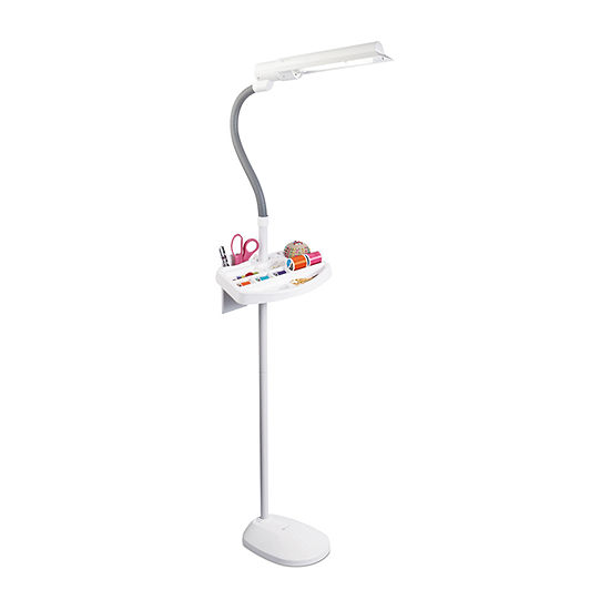 Ottlite 18w Wingshade With Accessory Tray Sewing Desk Lamp