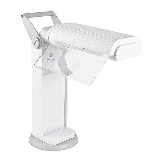 Ottlite 13w Classic Magnifier Task Desk Lamp