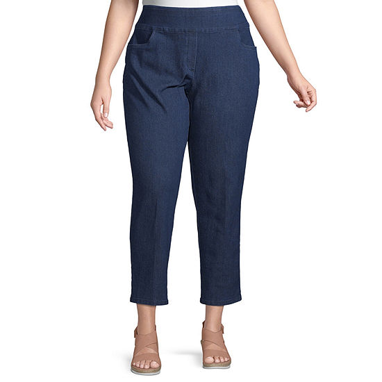 Lake Tahoe Alfred Dunner Proportioned Short Pant - Plus