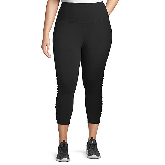 Xersion High Waisted Plus Workout Capris