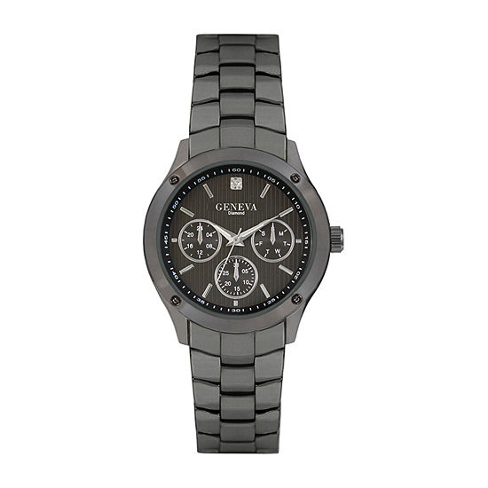 Geneva Mens Gray Bracelet Watch Jry8088gu