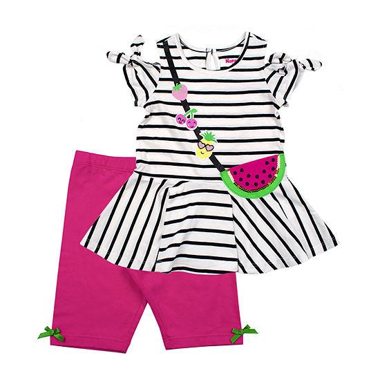 Nanette Baby 2 Pc Short Set Toddler Girls