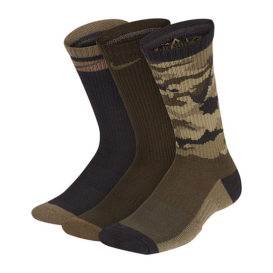 Nike 3pk Graphic Crew Socks