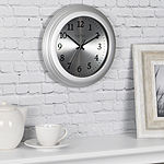 Firstime Sleek Steel Wall Clock