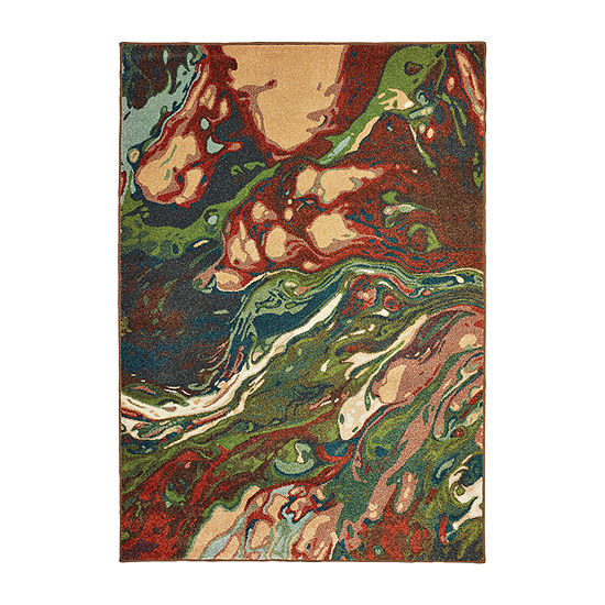 Covington Home Daxton Motion Rectangular Indoor Rugs