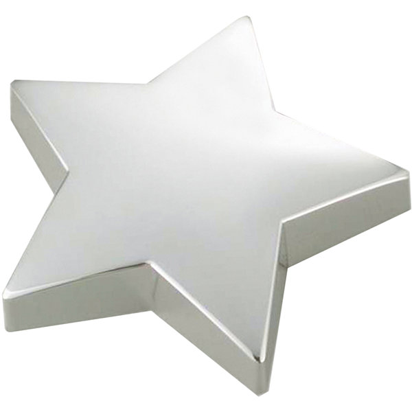 Natico Silver Star Paperweight