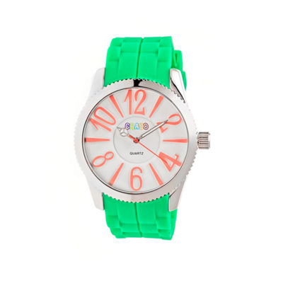 Crayo Womens Magnificent Lime Strap Watch CRACR2904