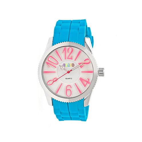 Crayo Womens Magnificent Cerulean Strap Watch CRACR2905