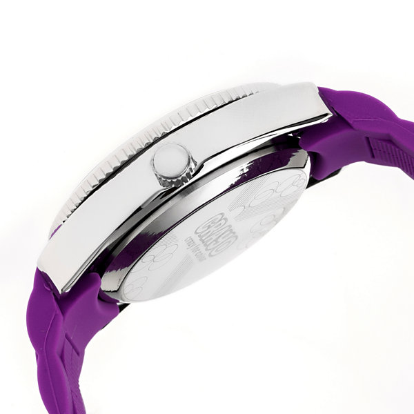 Crayo Womens Magnificent Purple Strap Watch CRACR2906