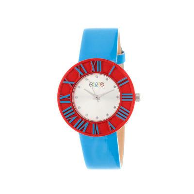 Crayo Prestige Blue Strap Watch