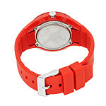 Crayo Womens  Burst Red Strap Watch Cracr3201