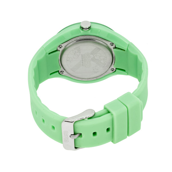 Crayo Womens  Burst Mint Strap Watch Cracr3203