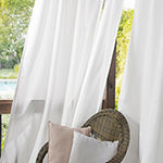 Sun Zero Fade Resistant Grommet-Top Single Outdoor Curtain Panel
