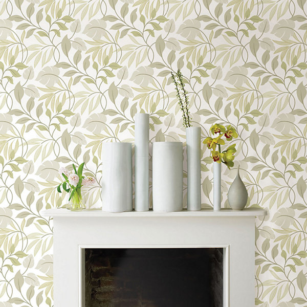 NuWallpaper Neutral Meadow Peel and Stick Wallpaper