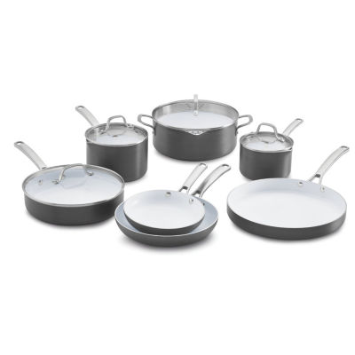 Calphalon® Classic 11-pc. Ceramic Nonstick Cookware Set