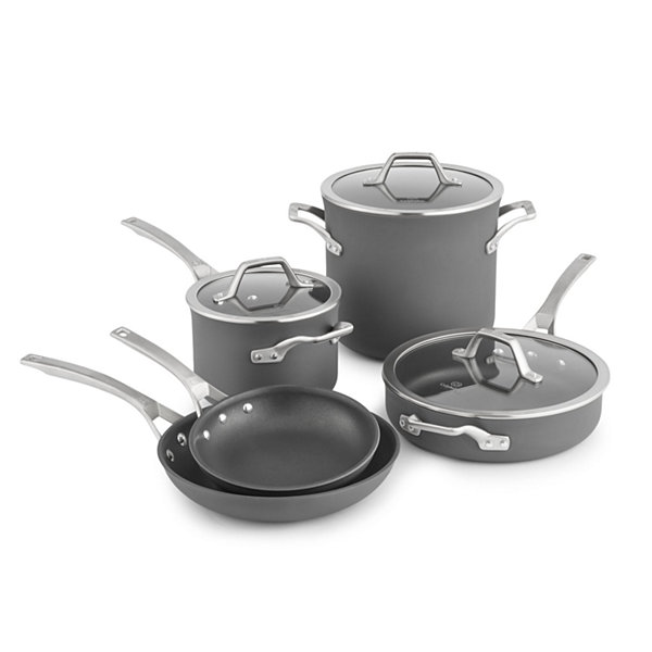 Calphalon® Signature™ Hard-Anodized Nonstick 8-pc. Cookware Set
