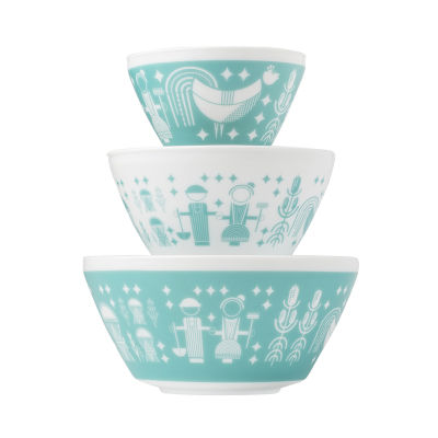 Vintage Charm™ Inspired by Pyrex® Rise N Shine 3-pc. Mixing Bowl Set