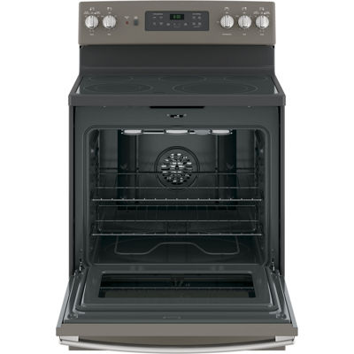 "GE® 30"" 5.3 cu. ft. Free-Standing Electric Convection Range"
