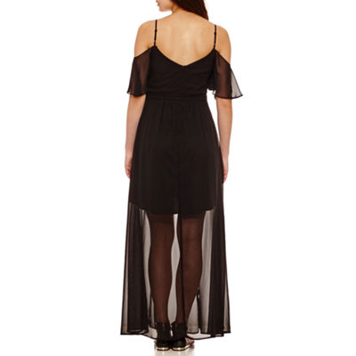 Bisou Bisou Cold Shoulder Maxi Dress