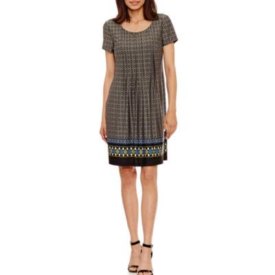 Perceptions Short Sheath Dress-Petites
