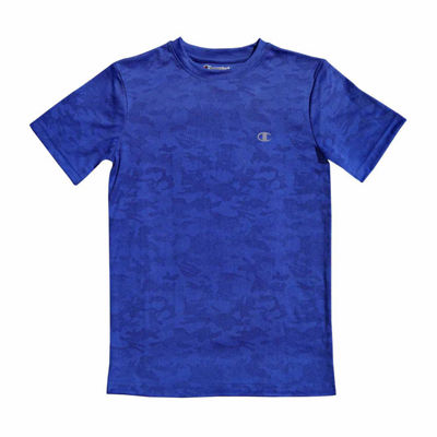 Champion Short Sleeve Crew Neck T-Shirt-Big Kid Boys
