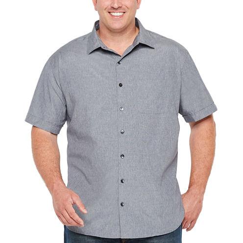 Van Heusen Short Sleeve Air Button-Front - Big & Tall