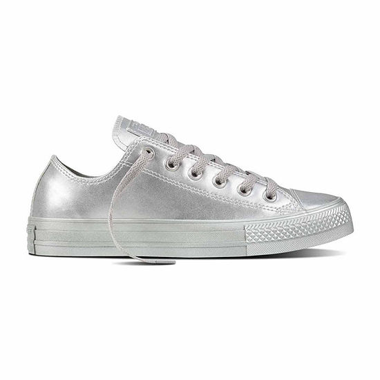 6fe77fe59d0c Converse Chuck Taylor All Star Leather Womens Sneakers - Unisex Sizing -  JCPenney