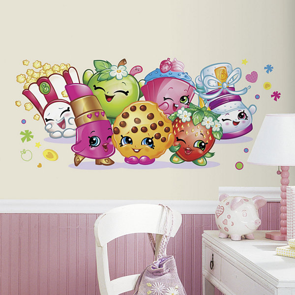 Shopkins Giant Wall Decal