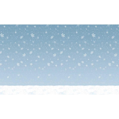 Buyseasons 30' Winter Sky Backdrop