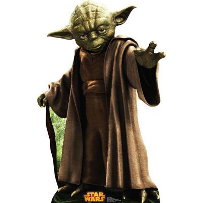Star Wars Yoda Standup - 3' Tall
