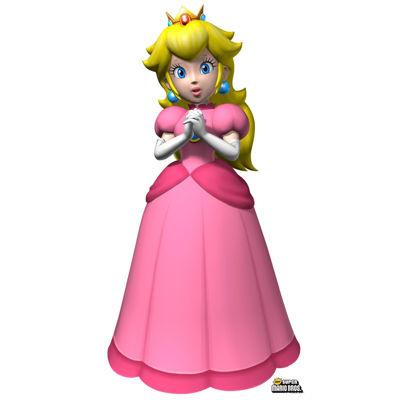 Super Mario Bros. Princess Peach Standup - 5' Tall