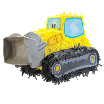 "18.5"" Bulldozer Pinata"""